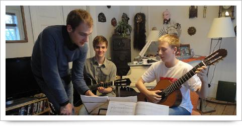 guitarundervisning køge